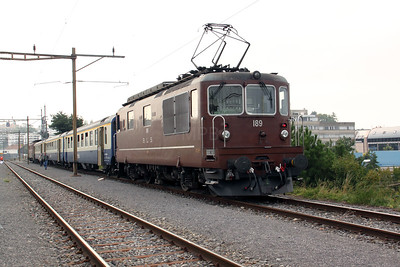 BLS, 189 at Lausanne Sebeillon on 12th September 2009