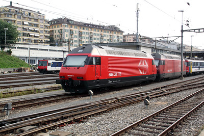 460 023 at Lausanne on 12th September 2009