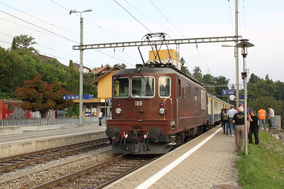 BLS, 189 at Gummenen on 12th September 2009