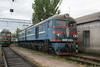 VL8 589 at Dzhankoy Depot on 10th May 2008