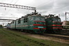 VL80 473 at Zhmerinka Depot on 8th May 2008