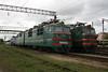 VL80 473 at Zhmerinka Depot on 8th May 2008