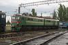 VL8 1722 at Dzhankoy Depot on 10th May 2008