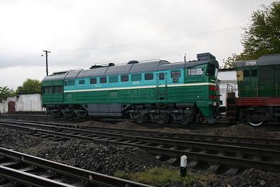 2TE116 1573 at Dzhankoy Depot on 10th May 2008