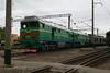 2TE116 1448 at Zhmerinka Depot on 8th May 2008