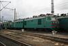 VL80 134 at Zhmerinka Depot on 8th May 2008