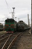 2TE116 1286 & VL80 007 at Zhmerinka Depot on 8th May 2008