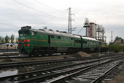 2TE116 1063 at Dzhankoy Depot on 10th May 2008