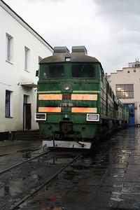 2TE116 1589 at Dzhankoy Depot on 10th May 2008