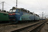 ChS8 010 at Zhmerinka Depot on 8th May 2008 (2)