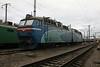ChS8 010 at Zhmerinka Depot on 8th May 2008 (2)