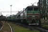 2TE10U 0072 at Dzhankoy Depot on 10th May 2008