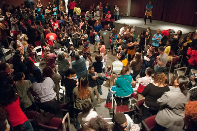 African Dancing & Drumming @ Mint Museum Randolph Rd 2-17-16 by Jon Strayhorn
