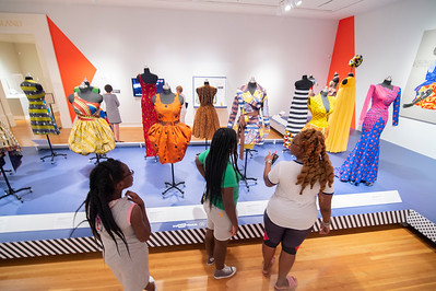 African Print Fashion Now Exhibit @ Mint Museum Randolph by Jon Strayhorn