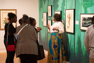 Mint Museum Randolph Artist Gallery with Grier Heights 10-23-19 by Jon Strayhorn