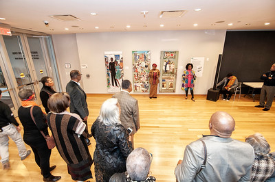 Constellation CLT - The Works of Nellie Ashford VIP Viewing @ Mint Museum Uptown 2-10-19 by Jon Strayhorn