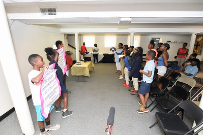 Grier Heights Mint Museum Youth Art's Program @ Grier Heights Presbyterian Church 5-29-19 by Jon Strayhorn