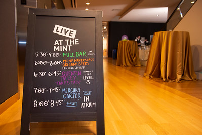 Live At The Mint with Mercury Carter @ Mint Museum Uptown 12-4-19 by Jon Strayhorn