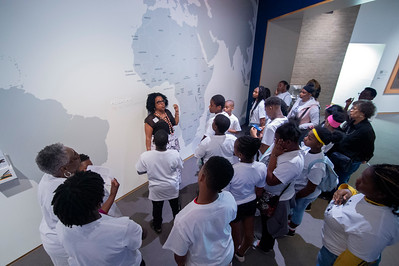Mint Museum Grier Heights Community Youth Arts Field Trip 4-18-19 by Jon Strayhorn