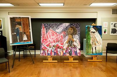 Requiem For Mother Emanuel - Carolina Artists Respond with Malcolm Graham @ Mint Museum Randolph 2-8-17 by Jon Strayhorn