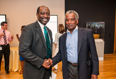 Thornton Dial's Hard Truths- The Art of Throton Dial Reception @ Mint Museum Uptown 6-27-12 013