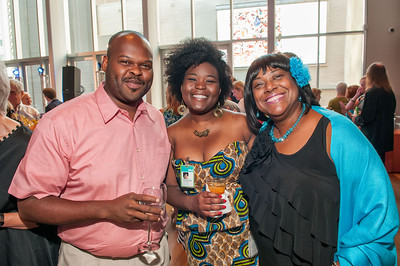 Thornton Dial's Hard Truths- The Art of Throton Dial Reception @ Mint Museum Uptown 6-27-12 055