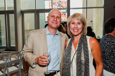 Thornton Dial's Hard Truths- The Art of Throton Dial Reception @ Mint Museum Uptown 6-27-12 044