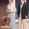 Rachel Sledd and Karl Kenzler in DIANA OF DOBSON'S by Cecily Hamilton <br /> Photo: Richard Termine