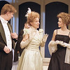 Karl Kenzler, John Plumpis, Glynis Bell and Rachel Sledd in DIANA OF DOBSON'S by Cecily Hamilton <br /> Photo: Richard Termine