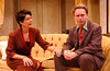 Leslie Denniston and Simon Brooking in NO TIME FOR COMEDY by S.N. Behrman <br /> Photo: Richard Termine