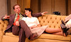 Simon Brooking and Leslie Denniston in NO TIME FOR COMEDY by S.N. Behrman <br /> Photo: Richard Termine