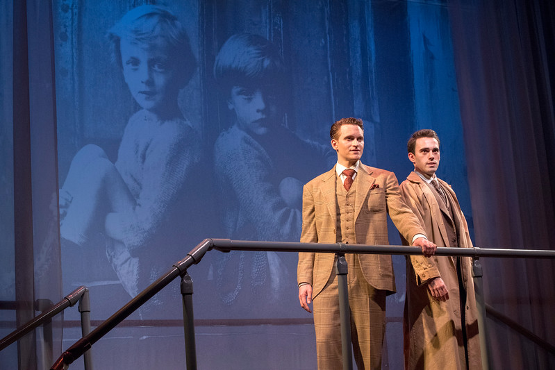 Robert David Grant and Ari Brand in THE LUCKY ONE by A.A. Milne. Directed by Jesse Marchese.<br /> Photo: Richard Termine.