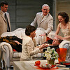 Bradford Cover, Richard Kline, Leah Curney, Roderick Hill (on couch) and Tandy Cronyn (in front) in THE RETURN OF THE PRODIGAL by St. John Hankin <br /> Photo: Richard Termine