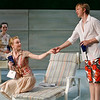 Leah Curney, Margot White and Roderick Hill in THE RETURN OF THE PRODIGAL by St. John Hankin <br /> Photo: Richard Termine
