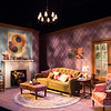 YOURS UNFAITHFULLY by Miles Malleson. Sets by Carolyn Mraz. Lighting by Xavier Pierce. Photo by Richard Termine.