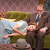 Elisabeth Gray and Todd Cerveris in YOURS UNFAITHFULLY by Miles Malleson.<br /> Photo: Richard Termine.