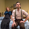 Elisabeth Gray and Max von Essen in YOURS UNFAITHFULLY by Miles Malleson.<br /> Photo: Richard Termine.