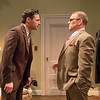 Max von Essen and Todd Cerveris in YOURS UNFAITHFULLY by Miles Malleson.<br /> Photo: Richard Termine.