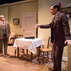 Todd Cerveris and Max von Essen in YOURS UNFAITHFULLY by Miles Malleson.<br /> Photo: Richard Termine.