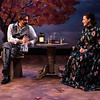 CHEKHOV/TOLSTOY: LOVE STORIES Adapted for the stage by Miles Malleson<br /> THE ARTIST Directed by Jonathan Bank<br /> Katie Firth and Alexander Sokovikov<br /> Photo by Maria Baranova