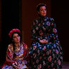 CHEKHOV/TOLSTOY: LOVE STORIES Adapted for the stage by Miles Malleson<br /> THE ARTIST Directed by Jonathan Bank<br /> Anna Lentz and Katie Firth<br /> Photo by Maria Baranova