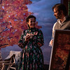 CHEKHOV/TOLSTOY: LOVE STORIES Adapted for the stage by Miles Malleson<br /> THE ARTIST Directed by Jonathan Bank<br /> Katie Firth, Anna Lentz, and Alexander Sokovikov<br /> Photo by Maria Baranova