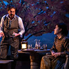 CHEKHOV/TOLSTOY: LOVE STORIES Adapted for the stage by Miles Malleson<br /> THE ARTIST Directed by Jonathan Bank<br />  Brittany Anikka Liu and Alexander Sokovikov<br /> Photo by Maria Baranova