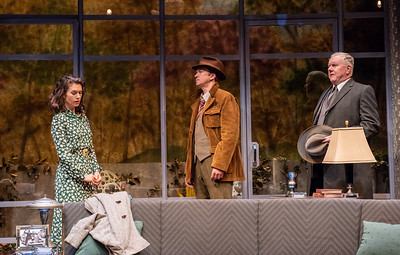 DAYS TO COME BY LILLIAN HELLMAN Janie Brookshire, Roderick Hill, and Dan Daily Photo by Todd Cerveris