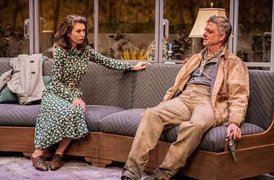 DAYS TO COME BY LILLIAN HELLMAN Janie Brookshire and Chris Henry Coffey Photo by Todd Cerveris