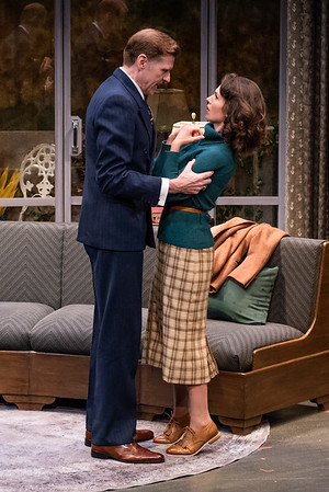 DAYS TO COME BY LILLIAN HELLMAN Ted Deasy and Janie Brookshire Photo by Todd Cerveris