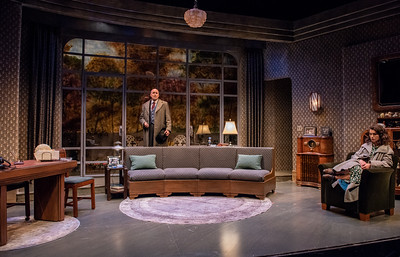 DAYS TO COME BY LILLIAN HELLMAN Larry Bull and Janie Brookshire Photo by Todd Cerveris
