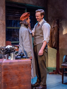 DAYS TO COME BY LILLIAN HELLMAN Janie Brookshire and Roderick Hill Photo by Todd Cerveris