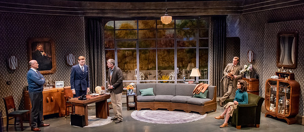DAYS TO COME BY LILLIAN HELLMAN Larry Bull, Ted Deasy, Chris Henry Coffey, Roderick Hill, and Janie Brookshire Photo by Todd Cerveris
