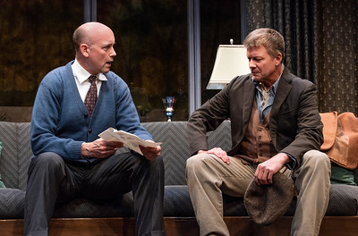 DAYS TO COME BY LILLIAN HELLMAN Larry Bull and Chris Henry Coffey Photo by Todd Cerveris